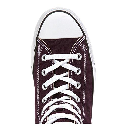 Converse - Ctas Core Hi, Sneaker Unisex – Adulto Black Cherry
