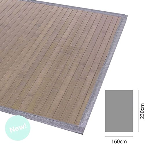 d'casa Bambus Teppich - Bambusmatte 160X230 Beige