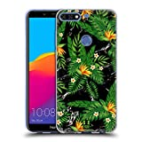 Head Case Designs Voegel Von Dem Paradies Tropische Marmor Drucke Soft Gel Hülle für Huawei Honor 7C / Enjoy 8
