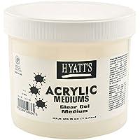 Hyatt's Acrylic Clear Gel Medium, 32 Ounce Bottle, 1 Each