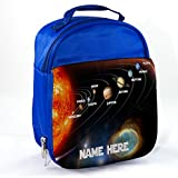 Best Kids Lunches On The Planets - Personalised Solar System Planets Sh240 Blue Childrens Insulated Review