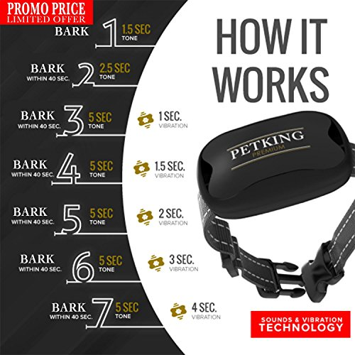 Zoom IMG-3 no bark dog collar anti