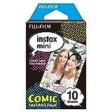 Fujifilm Instax Mini Comic Film Monopack de 10 Films pour développement instantané Comic