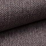 NOVELY® MUDAU | Polsterstoff | Meterware | Möbelstoff | Webstoff | Struktur-Stoff | Mélange | Grober Handwebcharakter | 17 Farben (05 Braun Beige)