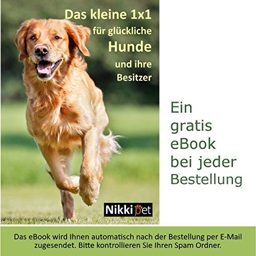 Joggingleine für Hunde von Nikkipet Verstellbarer, wasserabweisender Laufgürtel mit 2 Fächern & elastische, reflektierende 120 cm Leine & – Premium Flexi Jogging Hundeleine + Gürteltasche für große & mittlere Hunde - 7