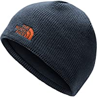The North Face Berretto Bones Unisex – Adulto, Urban Navy/Persian Orange, Taglia Unica
