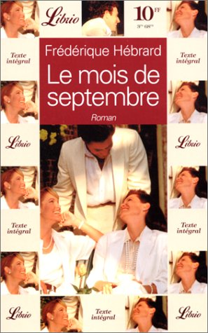 Le mois de septembre