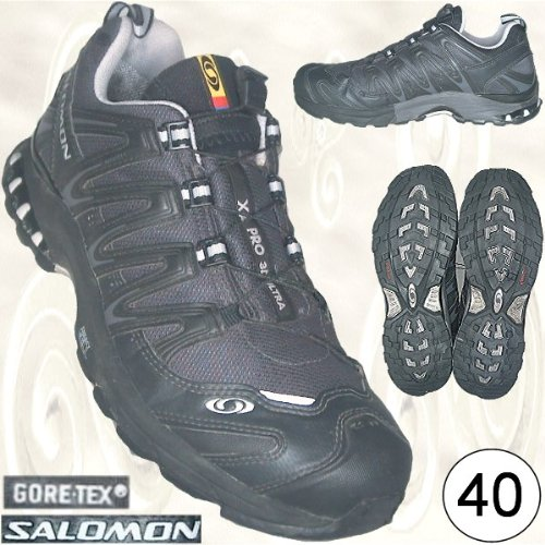 SALOMON XA PRO 3D ULTRA GORE-TEX Sportschuhe schwarz GR. 40 [Art.-Nr. 108453, Laufschuhe, Gr. UK 6.5, USA 8 - JAPAN 25, EUR 40 ]