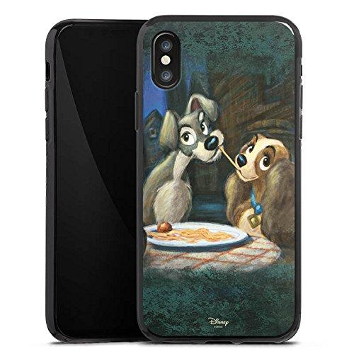 Apple iPhone 6 Silikon Hülle Case Schutzhülle Disney Susi & Strolch Fanartikel Merchandise Silikon Case schwarz