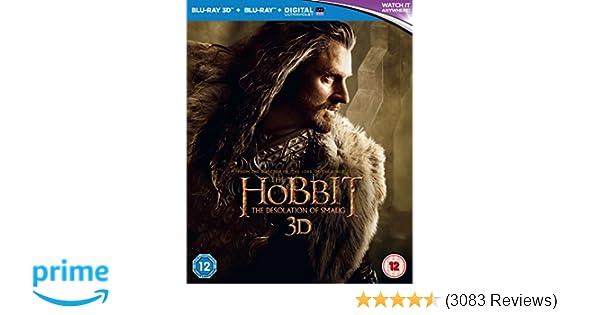 The Hobbit: The Desolation of Smaug Blu-ray 3D + Blu-ray + UV Copy
