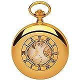 Royal London Mechanical Gold Tone Gents Pocket Watch 90006-02
