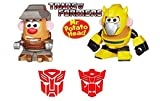 Playskool Transformers Mr. Potato Head Minis Mixable Mashable Heroes - Bumblebee and Grimlock