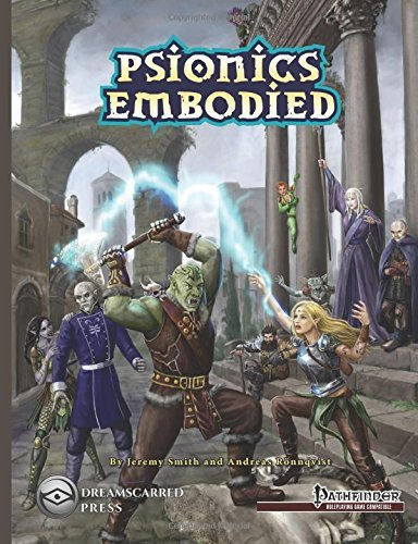 Psionics Embodied B&W by Andreas R??nnqvist (2015-01-13)