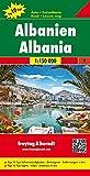 Freytag Berndt Autokarten, Albanien, Top 10 Tips - Maßstab 1:150.000 (freytag & berndt Auto + Freizeitkarten)