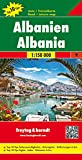 Albania, mapa de carreteras. Escala 1:150.000. Freytag & Berndt. (Auto karte)