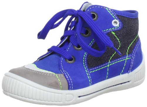 Superfit Cooly 00004685 Baby, Scarpe primi passi bambino Multicolore (Mehrfarbig (bluet kombi 85))