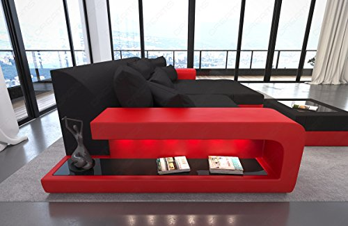 bigsofa megasofa big sofa milano with led rgb lighting. Black Bedroom Furniture Sets. Home Design Ideas