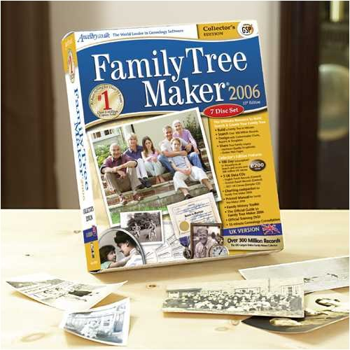 GSP Family Tree Maker 2006 (Collector's Edition) (PC)