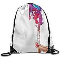 Saco bolsa bolsas de fumar colores cigarrillo haz de deportes cordón mochila impermeable cordón mochila impermeable Michigan