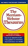 The Merriam-Webster Thesaurus -