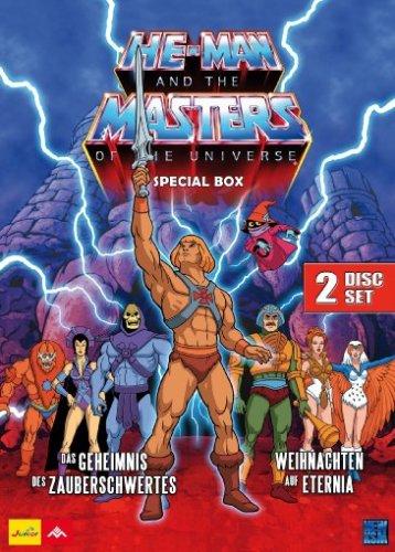 He-Man and the Masters of the Universe - Weihnachten auf Eternia / She-Ra: Princess of Power - Das Geheimnis des Zauberschwertes (Special Box) [2 DVDs] (Der Master-tv-serie)