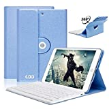 COO Housse Clavier AZERTY iPad Mini 1/2/3 Bluetooth, Clavier Français Etui Coque...
