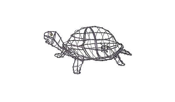 Tortoise/Turtle Topiary Wire Frame 13cm High: Amazon.co.uk: Garden ...