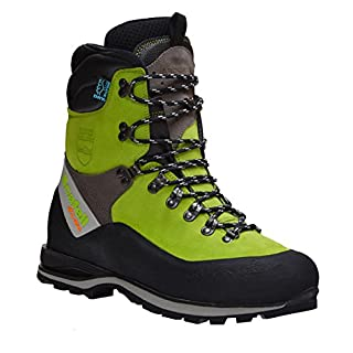 Arbortec Scarfell Lite Chainsaw Boots - Lime Size 47