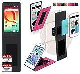 reboon Alcatel A50 Hülle Tasche Cover Case Bumper   Pink   Testsieger