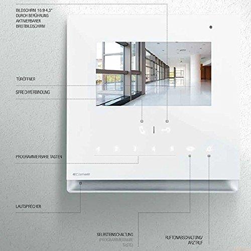 Briefkasten Videosprechanlage Edelstahl B3V Icona (Beschriftung direkt) - 6