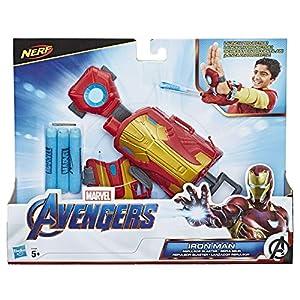 Avengers - Iron Man Lanzador Repulsor, Multicolor (Hasbro E4394EU4)