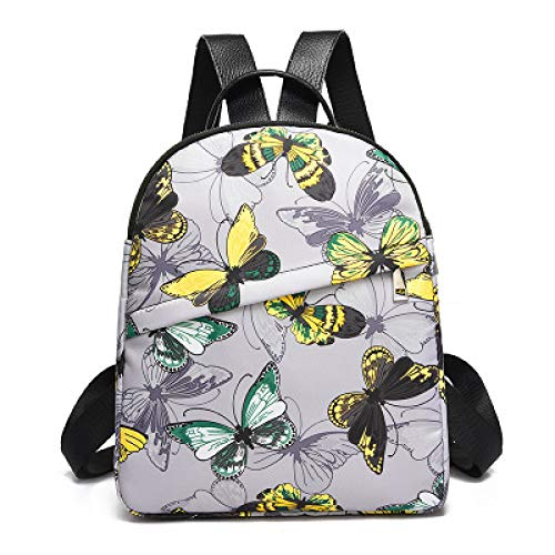 Multifunktionsdruck Rucksack Weiblichen Koreanischen Version Des Schmetterlings Flut College Wind Student Tasche Verschleißfesten Licht Aus Rucksack 2 25 * 30 * 10 * 8Cm