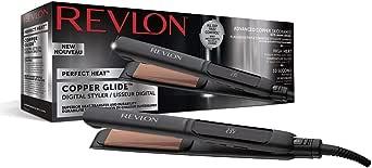 Revlon RVST2155 Fer à Lisser Perfect Heat Copper Glide Digital