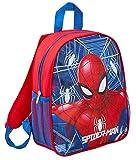 Zaino di Spiderman della Marvel che si illumina al buio, Spiderman. (Rosso) - MNCK9051