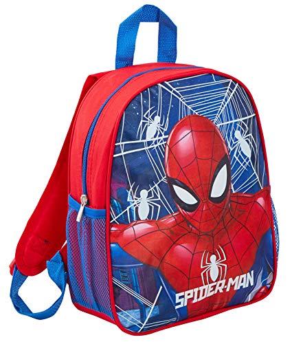 Marvel Spiderman Rucksack, leuchtet im Dunkeln, Spiderman (Rot) - MNCK9051