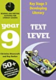 Text Level: Year 9: Reading and Writing Activities for Literacy Lessons(Developing Li...