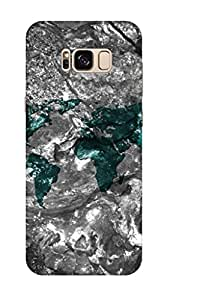 AMAN World Map 3D Back Cover for Samsung Galaxy S8 Plus