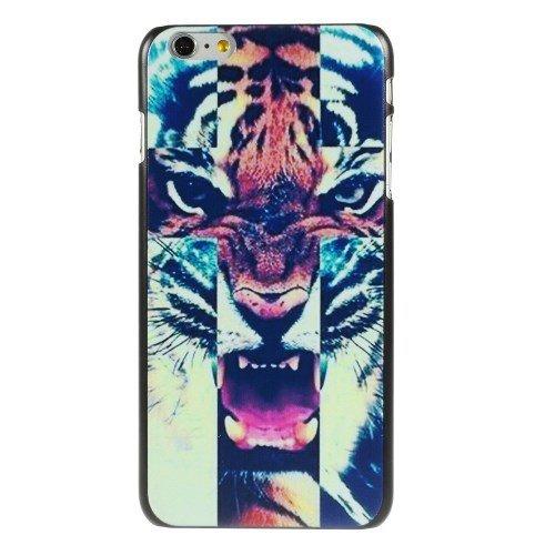 jbTec® Hardcase / Schutzhülle zu Apple iPhone 6 Plus / 6s Plus - MOTIV - Schutzhülle, Handy-Hülle, Case, Motiv / Muster:Anker K02 Tiger E03