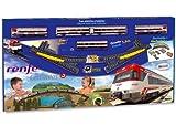PEQUETREN- Cercanías Renfe con Diorama Paisaje (Servicios e Industrias del Juguete 680), Color Via Negra (