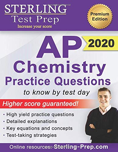 Sterling Test Prep AP Chemistry Practice Questions: High Yield AP Chemistry Questions & Review (Chemie Ap)