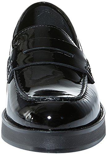 Soldini 20249-v-t33, Mocassins (loafers) femme Noir