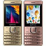 G'Five Z8 Rose Gold+ Z8 Rose Gold, COMBO OF TWO Mobiles With Features Like Dual Sim, Vibration, 2200 Mah Long Lasting Battery Capacity And 1 Year Manufacturer Warranty