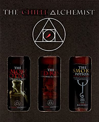 The Chilli Alchemist The Smoke Potion The Red King Magnum Opus box set