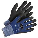 Lagerhandschuh Transporthandschuh Handschuh Kori-Super - Größe 10 - blau/schwarz