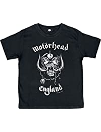 Motörhead England Kids shirt black 116