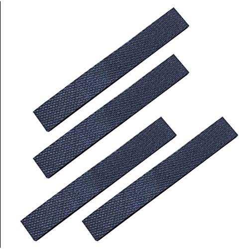 SODIAL 4 Stueck Reifen Leder Haut Ersetzt Fuer Irobot Braava 320 380 381 380T 390 390T Mint 4200 4205 5200 5200C Leder Haut