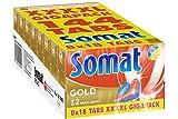 Somat 12 Gold 4XL Gigapack 8 x 18 Tabs, 2.880 kg Paket, 144 Stück