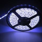 XKTtsueercrr neu 5M 16.4ft 5630 300LED SMD Cool White Light Strip flexible Streifen LED-Licht wasserdicht super hell DC 12V