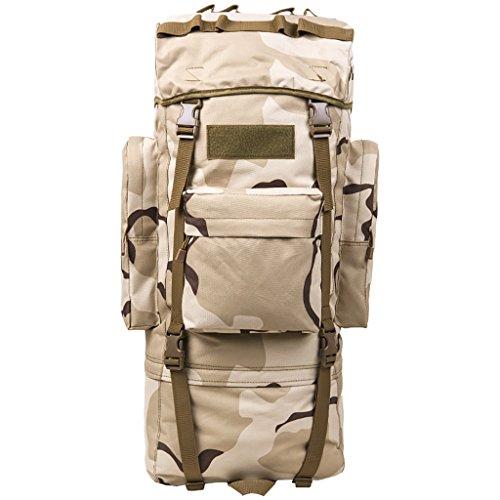 zaino trekking Uomini e donne di 65L / 100L Spalle di grande capacità Indietro i sacchetti di bagaglio dello zaino escursionistico esterno Zaini da escursionismo ( Colore : 7 , dimensioni : 65L-30*20* 6