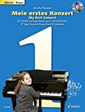 My First Concert - 57 Easy Concert Pieces from 5 Centuries - piano - edition with CD - (ED 20969)